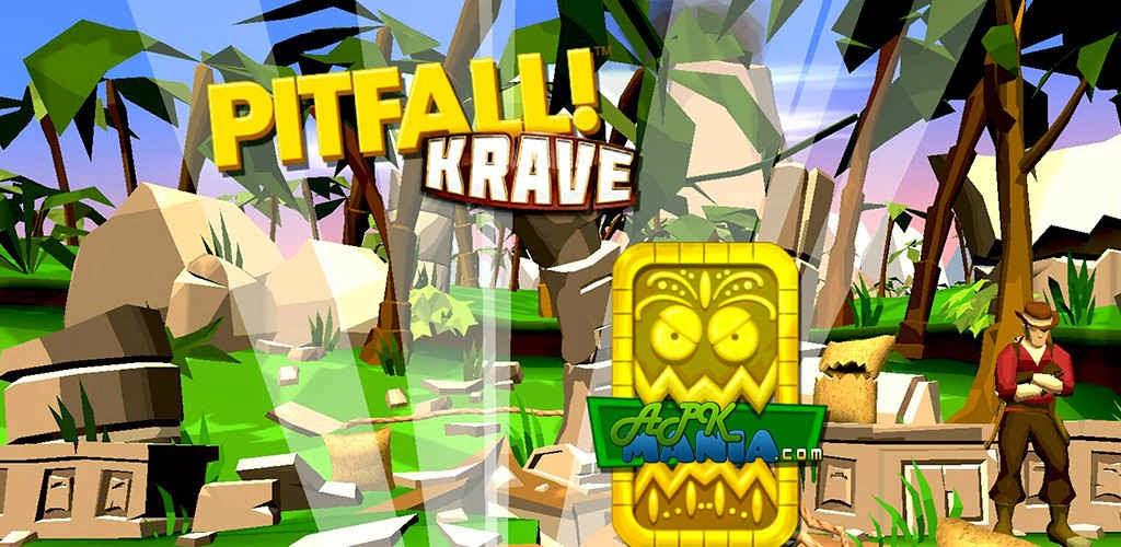 Pitfall!  Unlimited V1.0.0 Krave / money paid Apk Mod Download