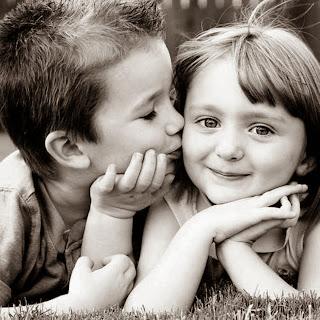 boy kissing girl romantic love