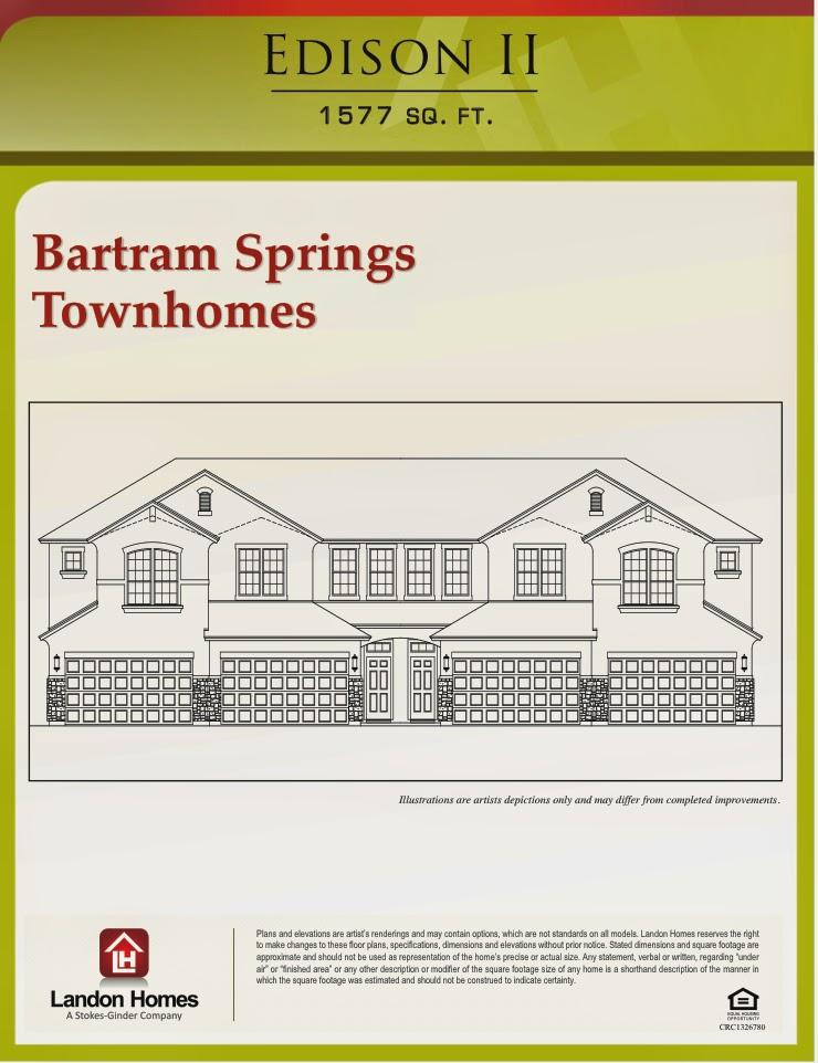 Landon homes featuring the edison ii floor plan for Landon homes floor plans