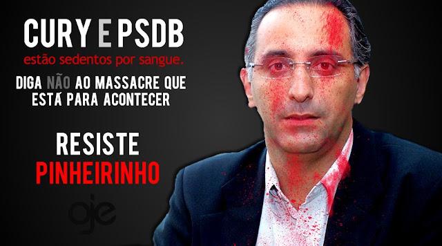 prefeito eduardo cury psdb massavre do pinheirinho
