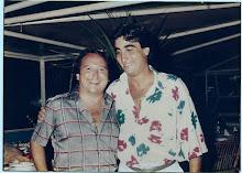 Con Fernando Esteso en la Atlantida 1985