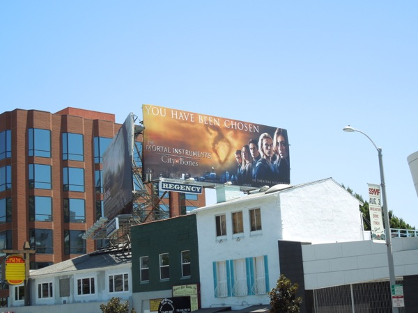 Mortal Instruments City Bones billboard