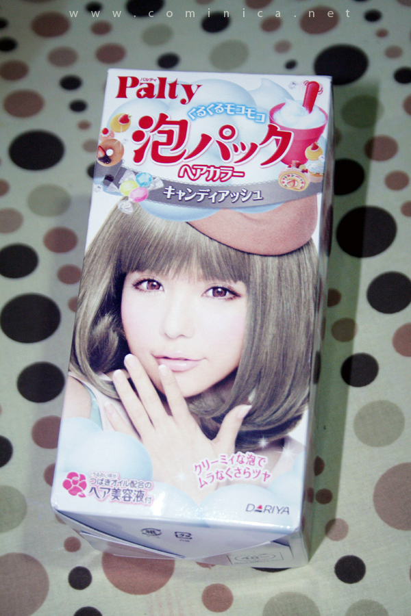 Cominica Blog Palty Bubble Hair Dye In Candy Ash