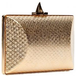 altın sarısı el çantası