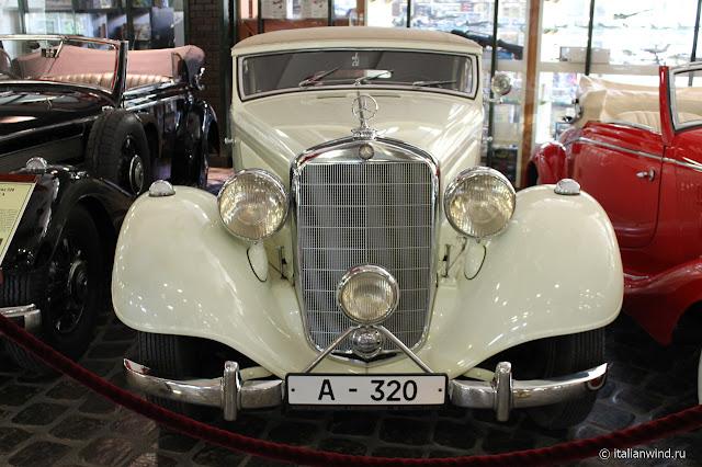 Mercedes-Benz 320 Cabriolet A