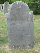 This tombstone was photographed at the Cemetery on the Hill, Windham, .