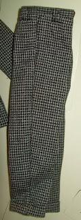 Fashion Insider Ken's black tweed pants