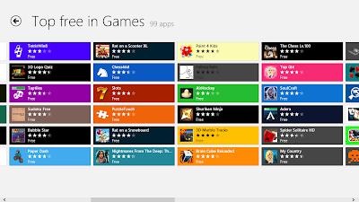 99 Permainan Gratis Untuk Windows 8