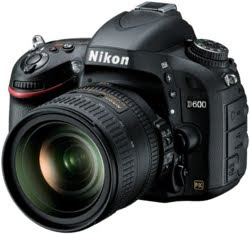 New Nikon D600 Full-Frame Compact HDSLR Camera