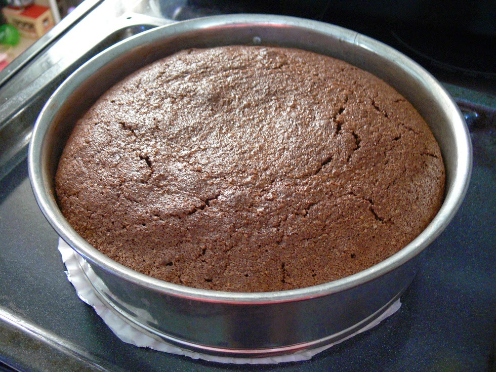 Pressure Cooker Flourless Chocolate Cake