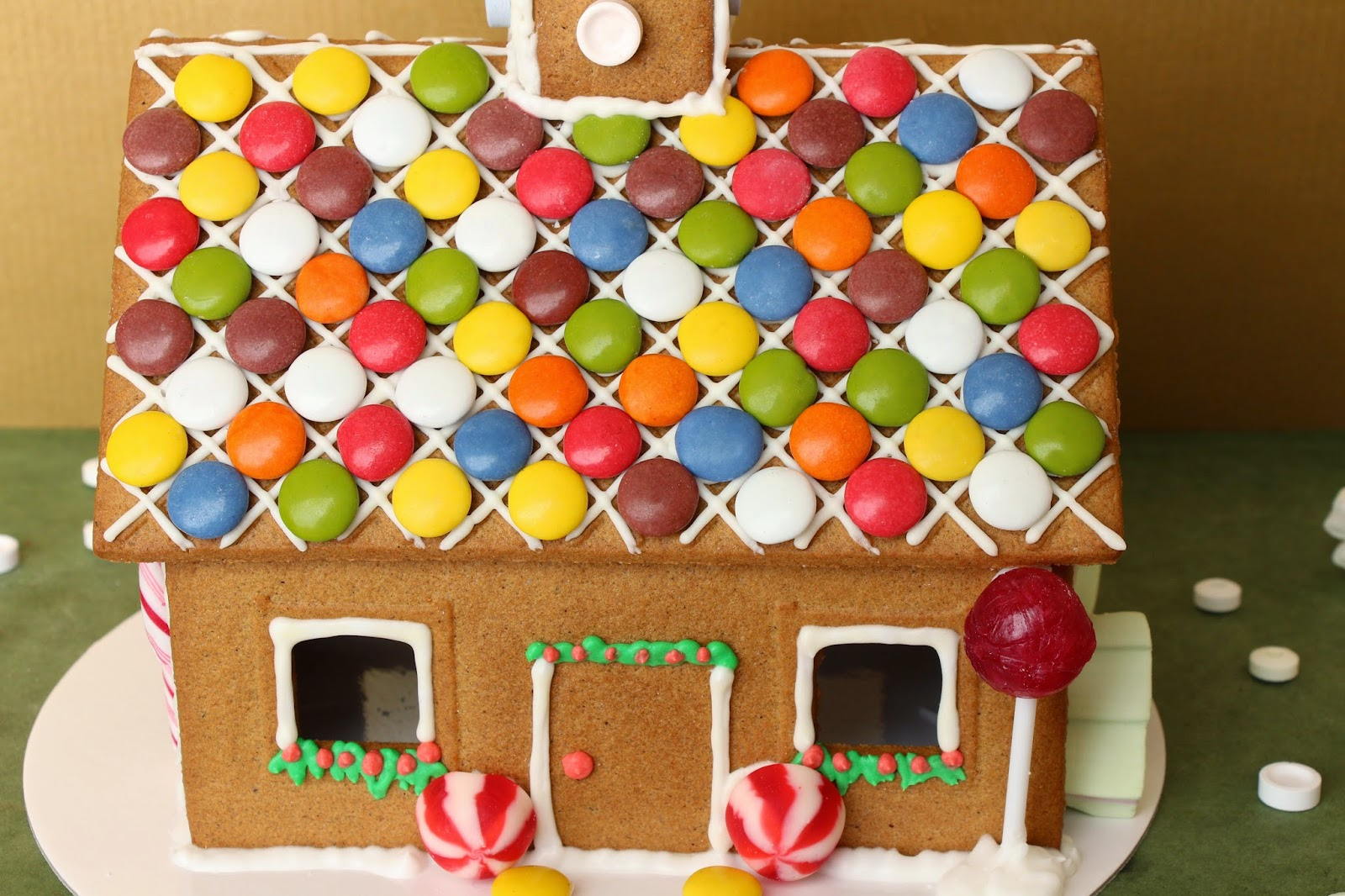 casa con lacasitos Navidad