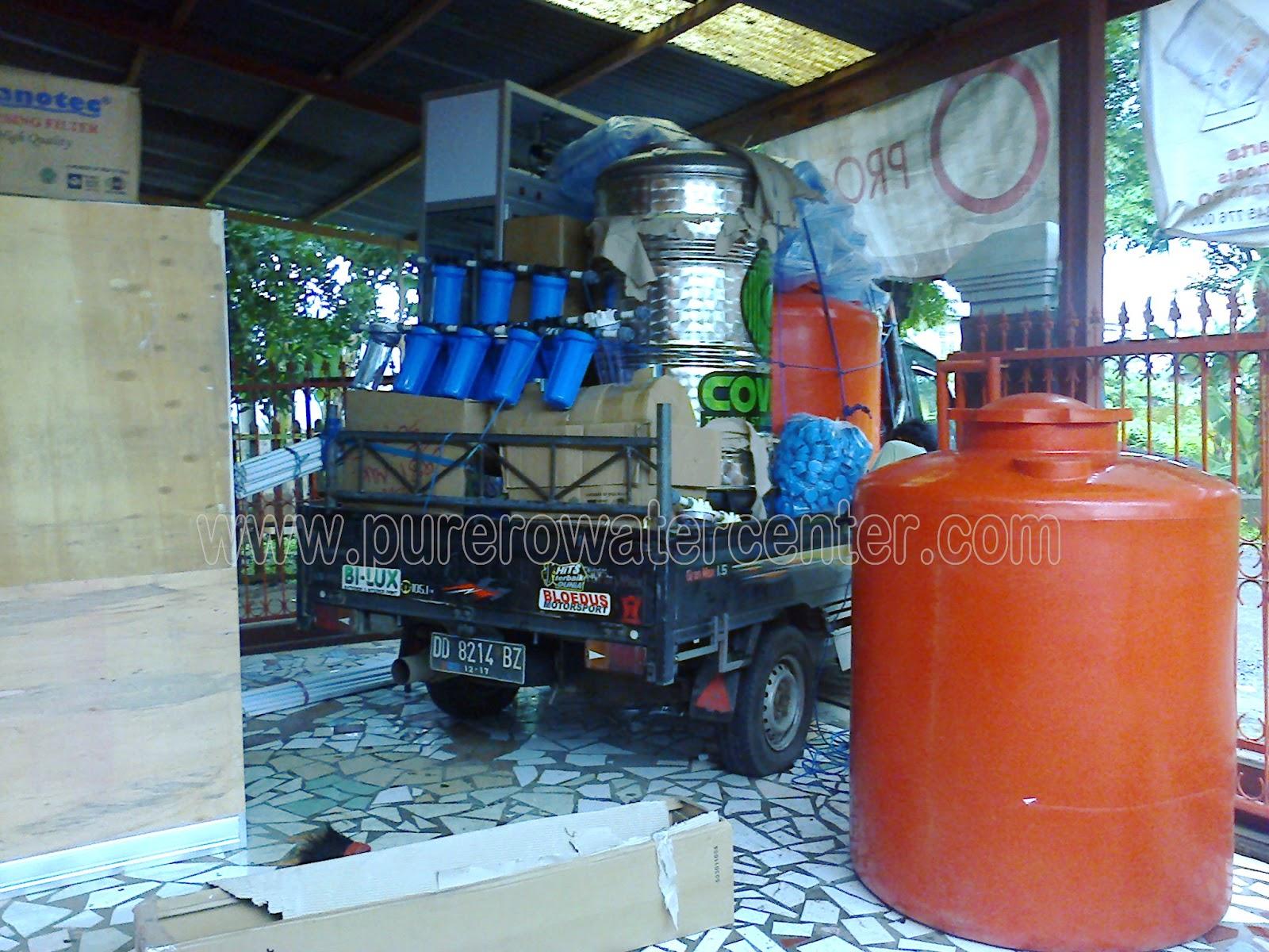 pengangkutan pesanan depot air minum isi ulang