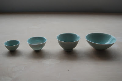 celadon teacups