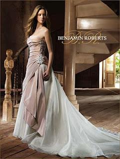 Vestidos de Novia Rosados, parte 2