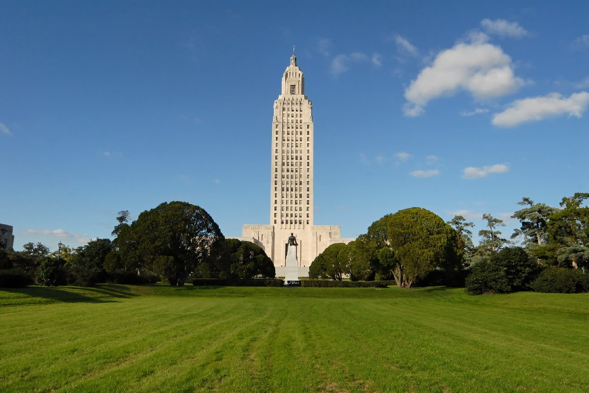 Louisiana State Capital Building Wonderful Tourism