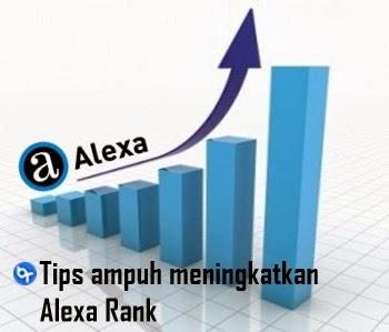 Cara ampuh meningkatkan Alexa Rank