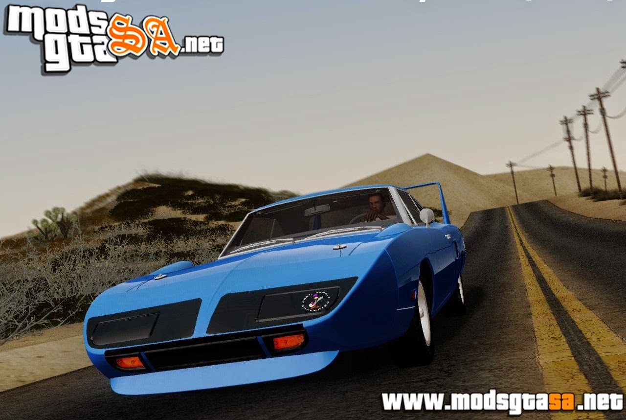 SA - Plymouth Roadrunner Superbird 1970