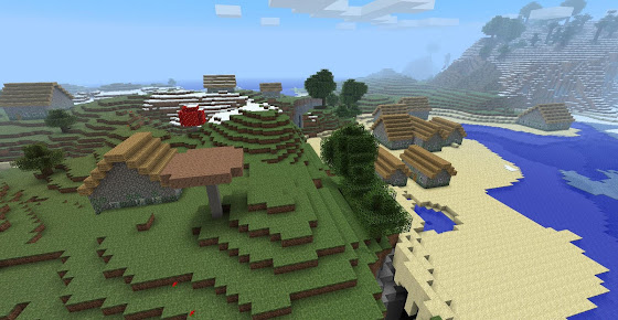 Village PNJ Minecraft