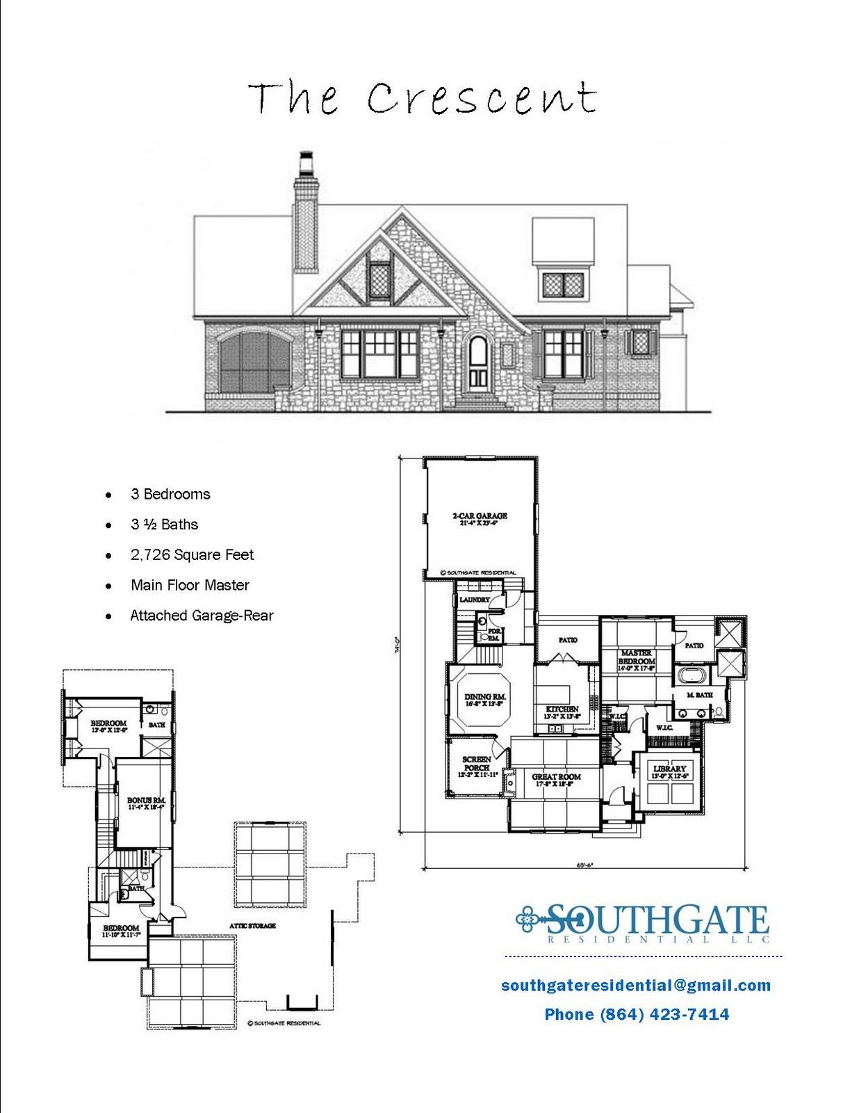 Southgate Residential Pre Designed Plans