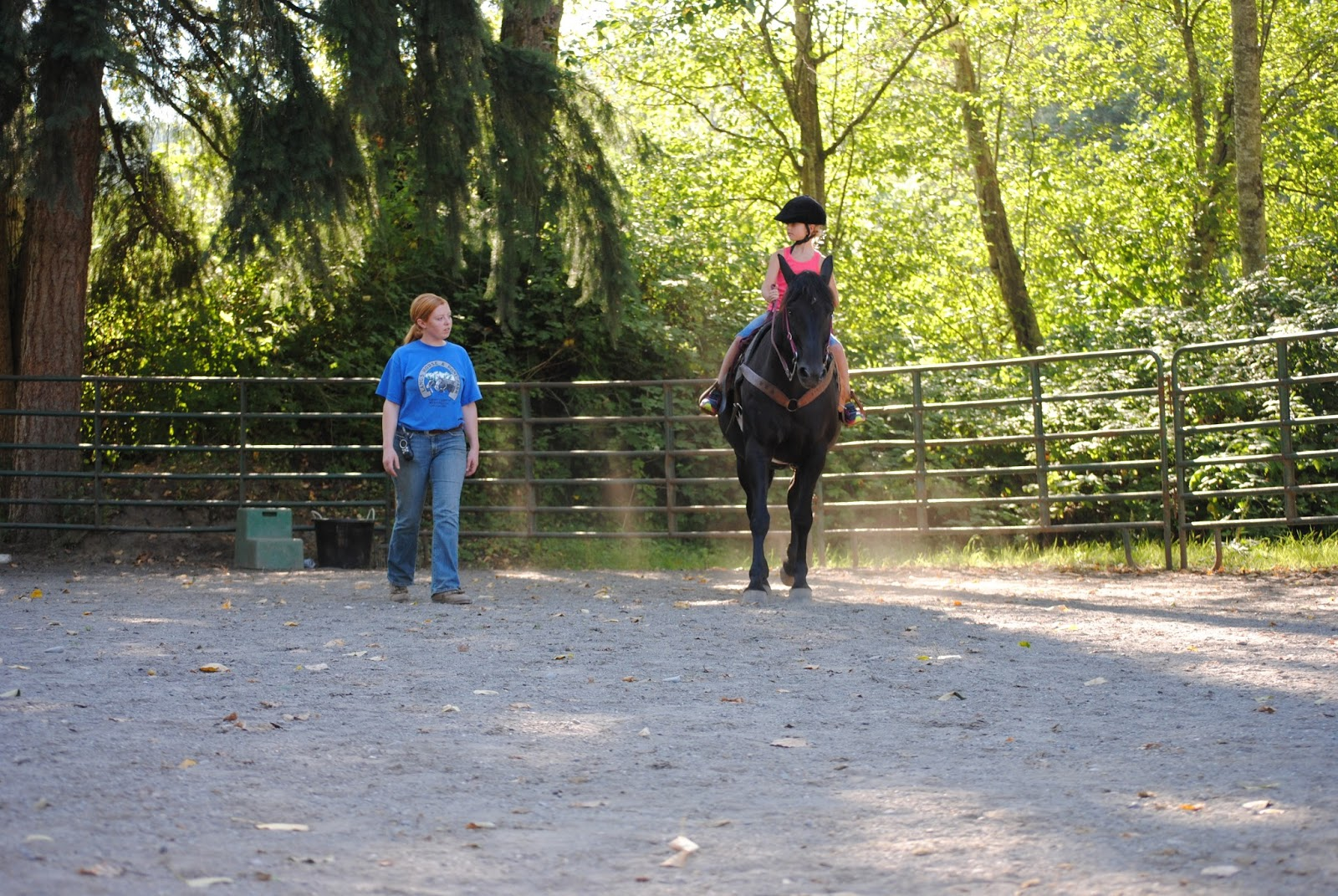 Kelsey & Rylee: Langs Horse and Pony Farm