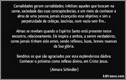 COMO REFLEXO DIVINO, EM CRISTO JESUS