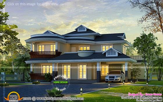 Dream home Kerala