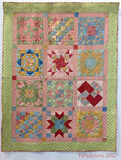 Jelly Roll Sampler Quilt Boutique by Chez Moi Moda