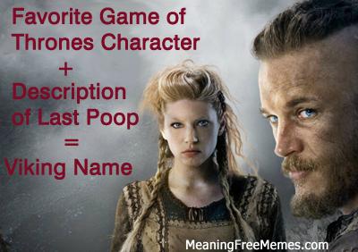 Your Viking Name