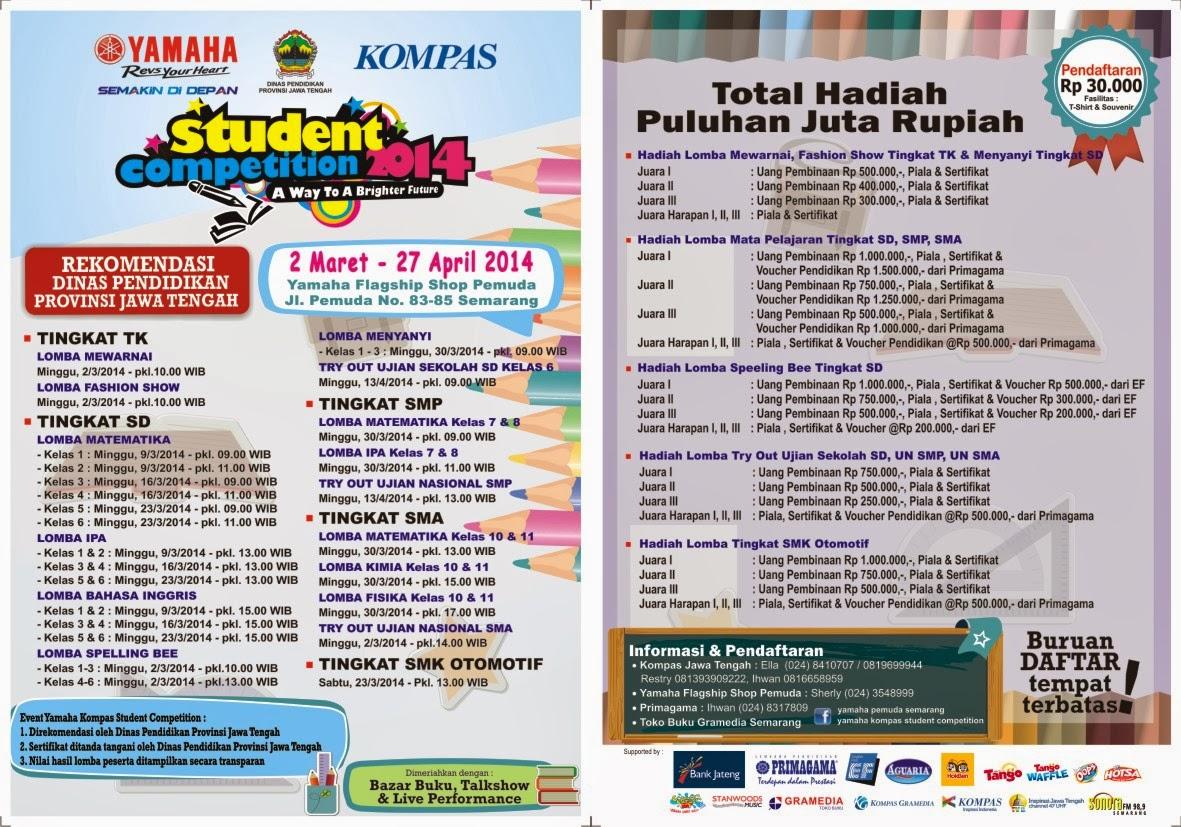 Yamaha Kompas Student Competition Semarang 2014