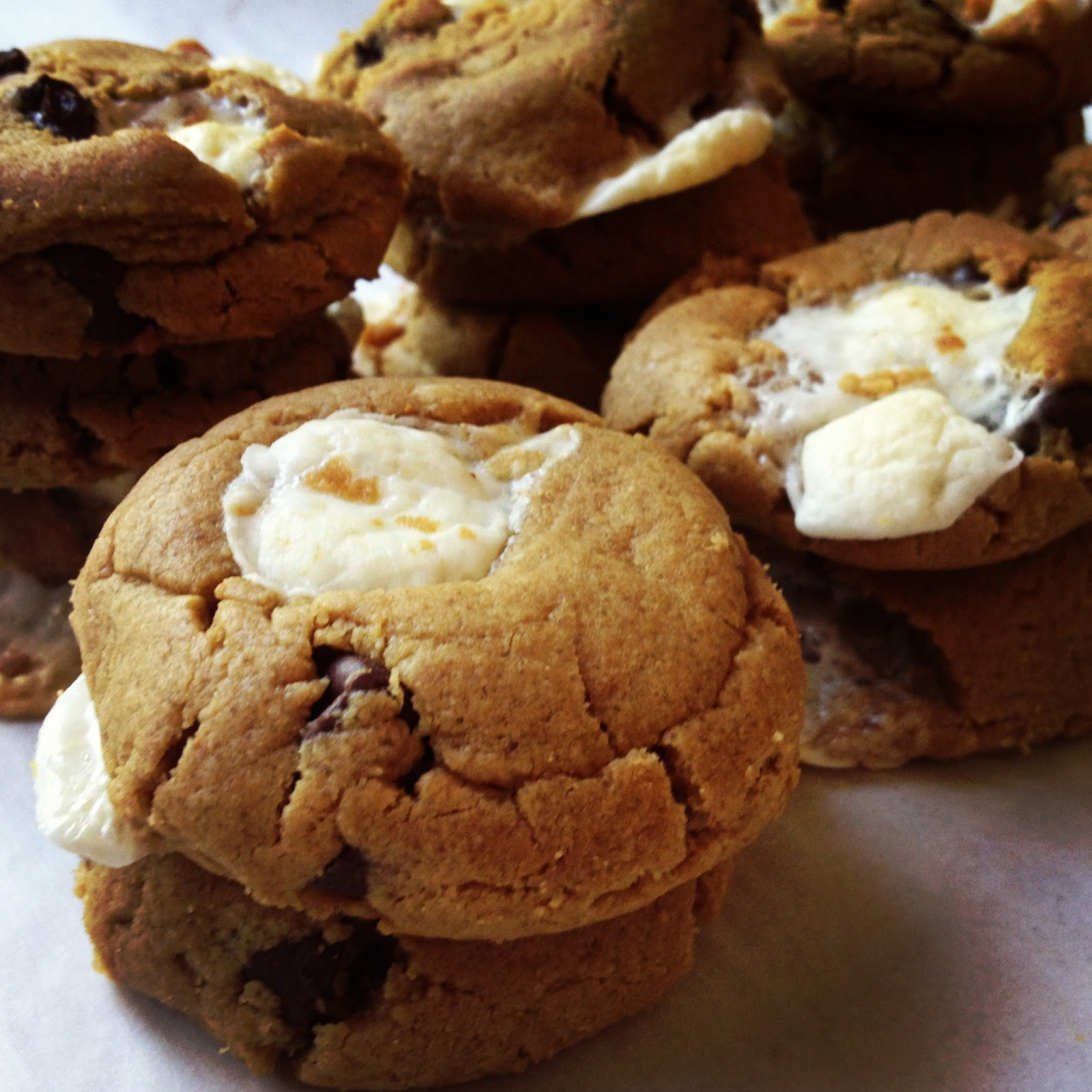 Campfire Cookies Recipe — Dishmaps