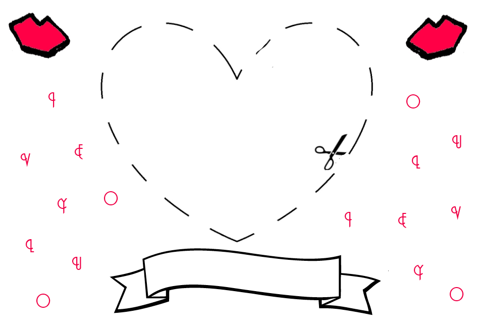 Illustrated Moodboard DIY Make your own Valentines Day or not – Print Your Own Valentines Card