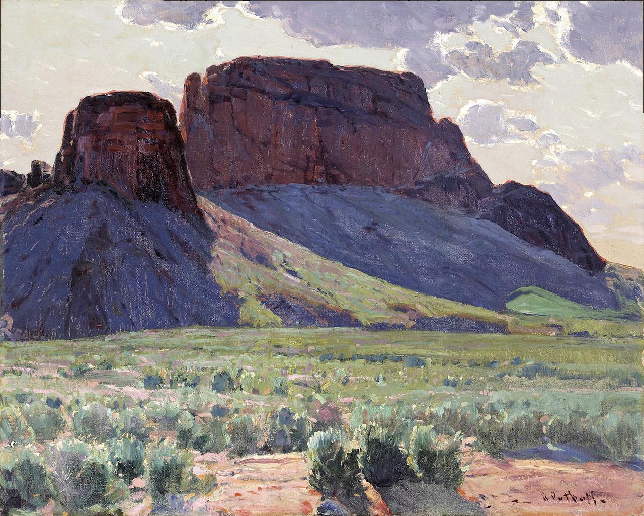 arte american impressionism hanson puthuff 7