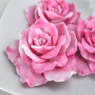 Homemade Rose Soaps