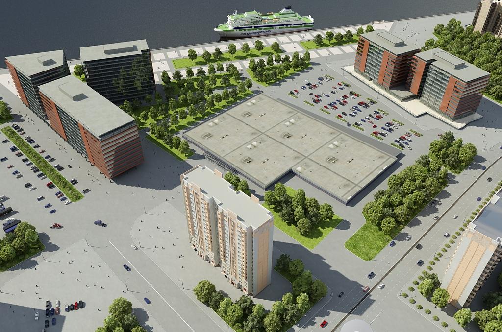 3d front new plaza render maya and cinema 4d for 4d garden design