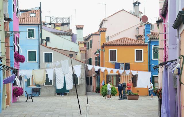 Burano - Venise, Italie - Venice, Italy - Venezia, Italia