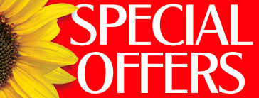 Special Offers & Deals
