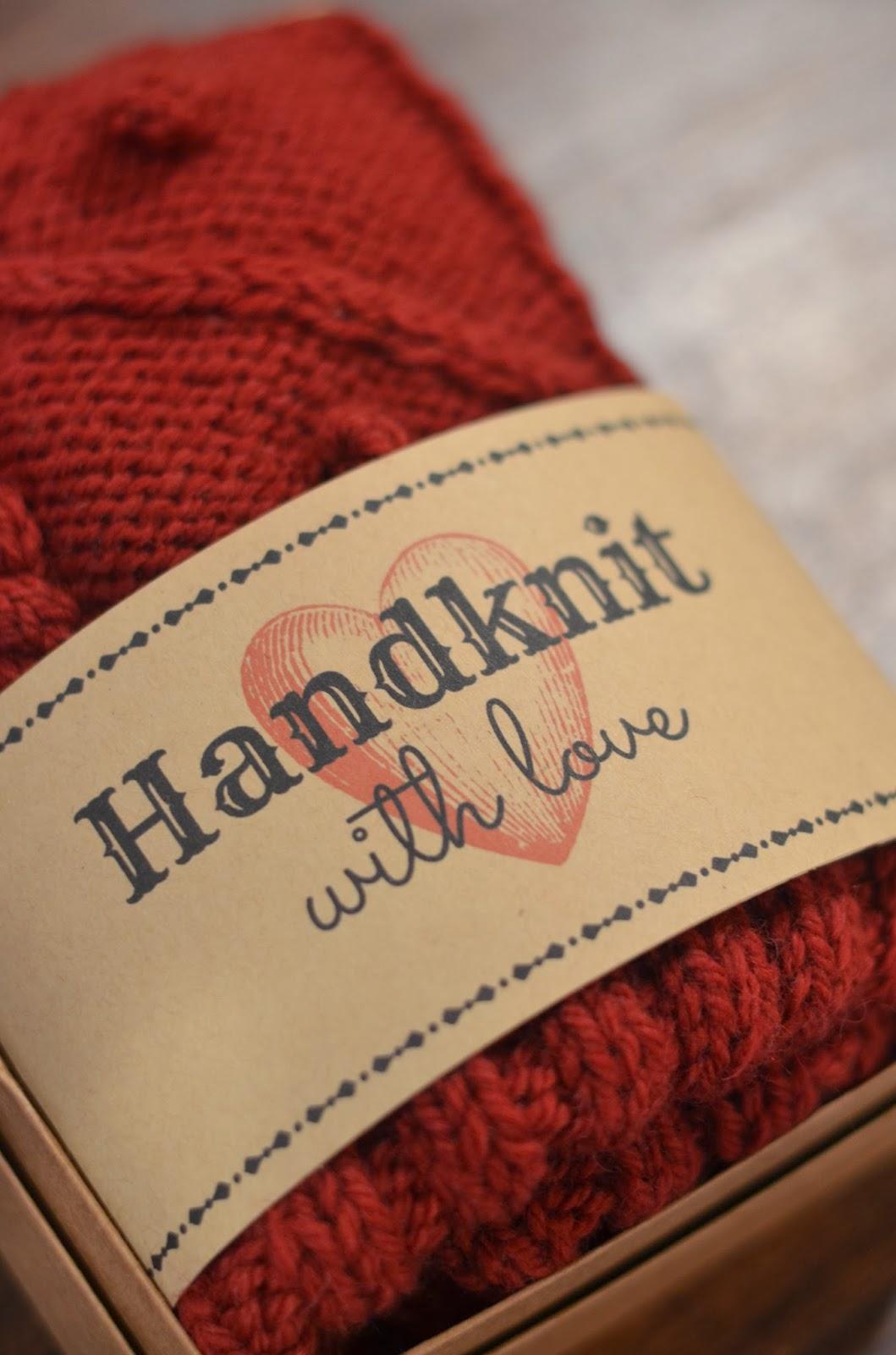 Cobberson.com printable knit gift tag free