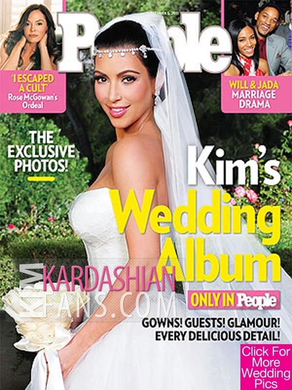 the amazing kim kardashian wedding