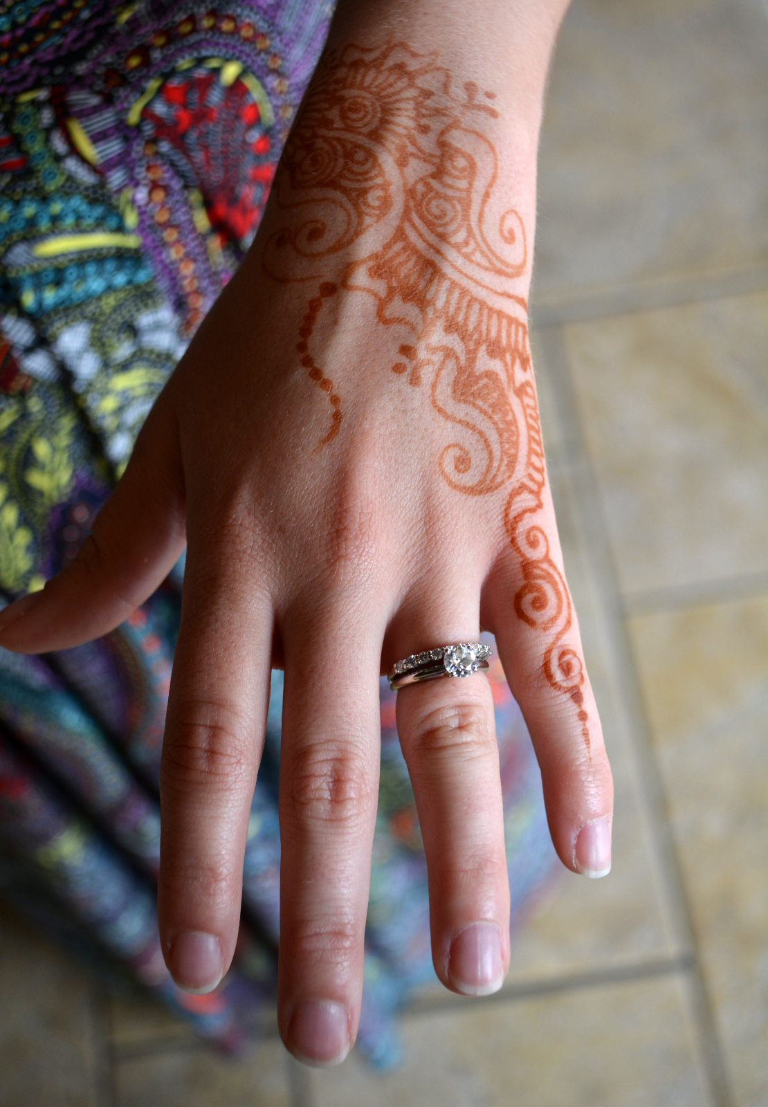 cozy birdhouse | henna for joe and roshni's wedding