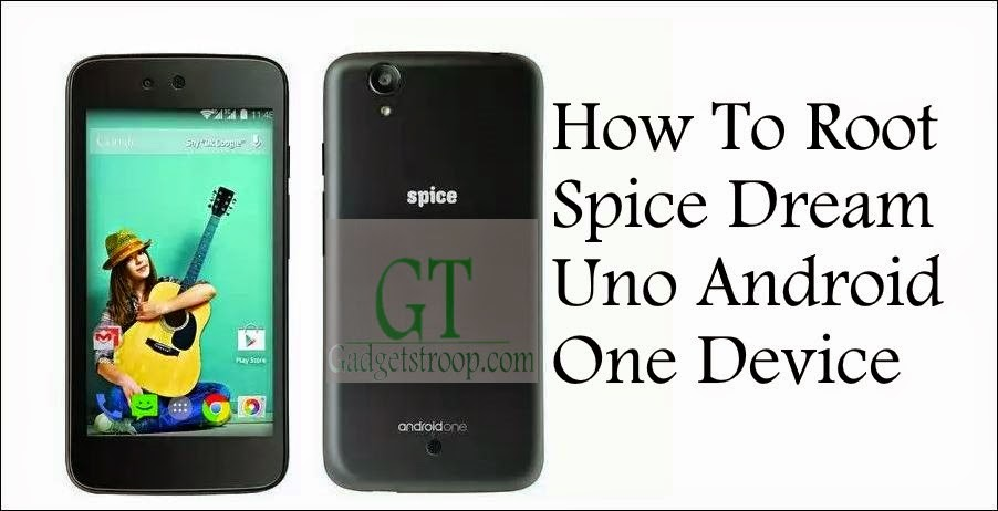 unlock bootloader,install recovery and Root Spice dream uno