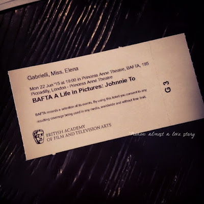 BAFTA a life in pictures johnnie to