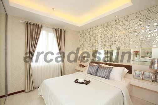 Desain interior apartemen royal mediterania garden 1 for Design interior apartemen 1 bedroom