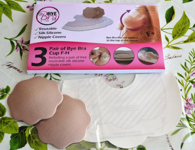 recensione dell'adesivo per il seno byebra