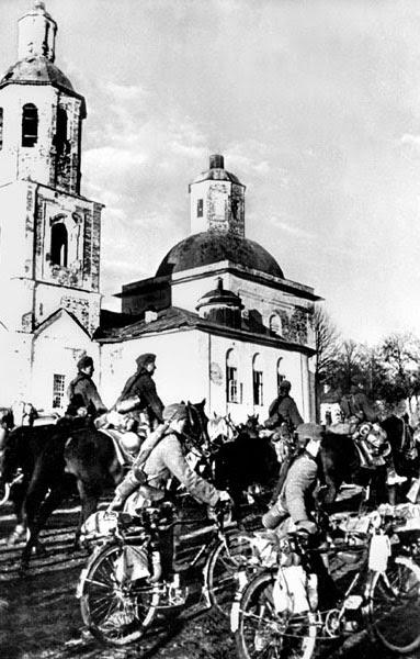 По вязьме 7 октября 1941 г