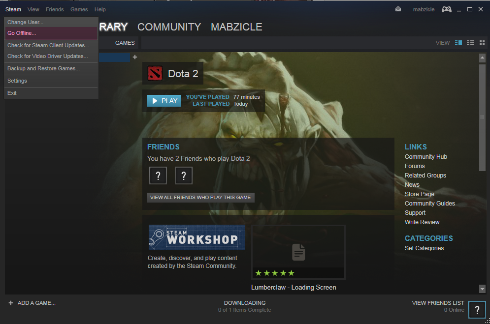 Solved HOW TO Play DOTA 2 In Offline Mode Without