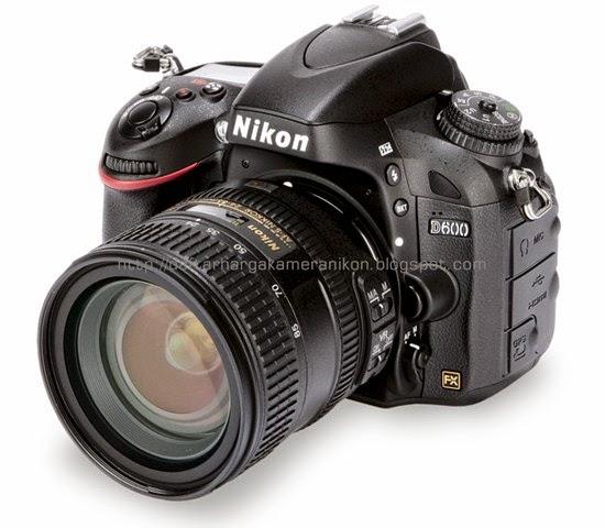 Harga Kamera DSLR Nikon D600