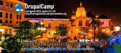 El evento tecnológico para iniciar el 2013 en Cartagena: DrupalCamp