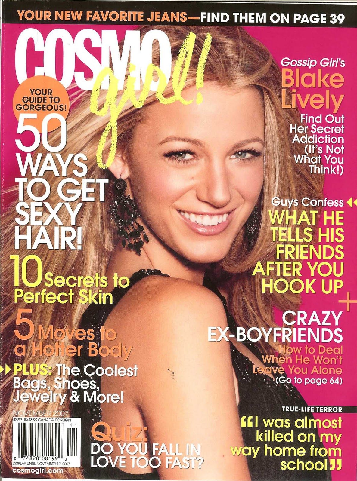 cosmo girl essay We tell our little girls they are beautiful and that they should feel that way, but we also tell them to not be too vain case in point: an essay that recently appeared in cosmopolitan in which a 20-year-old girl admitted to being so pretty that she feels people don't recognize her accomplishments the backlash has been swift and oh so m.