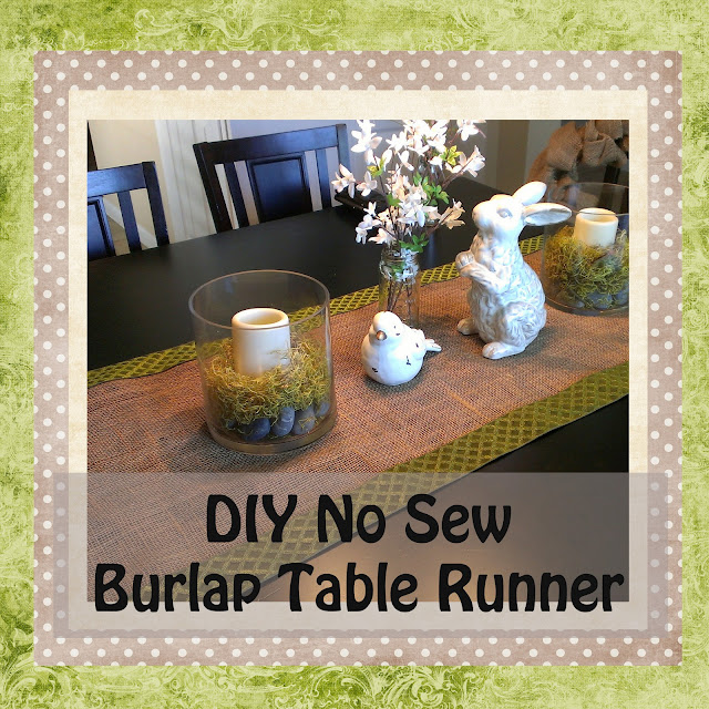 http://gloriouslymade.blogspot.com/2013/05/diy-no-sew-burlap-table-runner.html