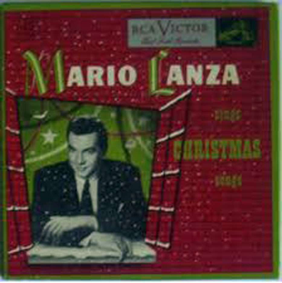mario lanza sings christmas songs rca victor wdm 1649 1951 set of four 45rpm red vinyl records plus box - Best Selling Christmas Songs